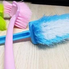 다용도 욕실 청소솔 1개(색상랜덤)