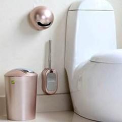 벽걸이형 욕실 변기솔 1개(색상랜덤)