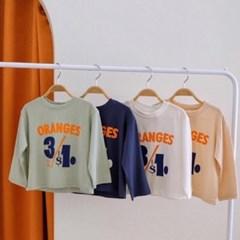 [아동](FA)오렌지티셔츠[S-XL]_(1705553)