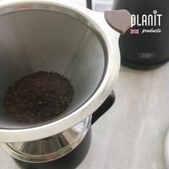 플랜잇 핸드드립 커피 일체형 스테인레스 드리퍼