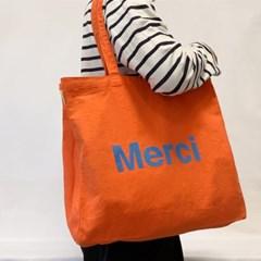 파리 편집샵 정품 메르시(Merci) Clem 에코백 / 캔버스백