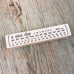 A Nice Day Calendar