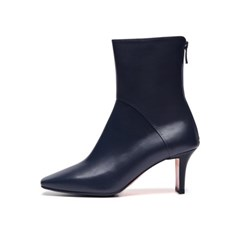 Square Line ankle boots 2 Navy