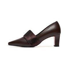 Band Pumps (red brown)