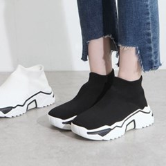 kami et muse Sporty tall up outsole socks fit sneakers_KM19w039