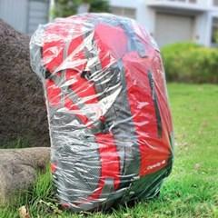 등산 가방 백 팩 배낭 레인 비닐 방수 커버 덮개 L_(1332723)