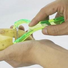 기본형 컬러 감자필러1개(색상랜덤)
