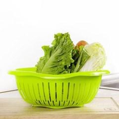 미니멀 야채과일 채반 1개(색상랜덤)