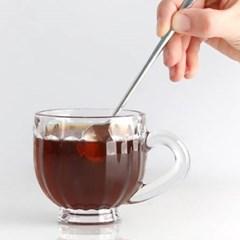 클리어 플레인 심플 커피잔 1개