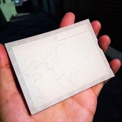[역사굿즈] 동아시아사 공부를 위한 지도 빈티지 떡메모지
