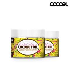 코코엘 오가닉 엑스트라버진 코코넛오일(60ml) 2병