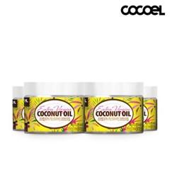 코코엘 오가닉 엑스트라버진 코코넛오일(60ml) 4병