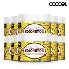 코코엘 오가닉 엑스트라버진 코코넛오일(60ml) 10병