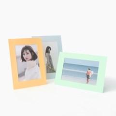 컬러 스탠딩 페이퍼프레임 - 4x6 브라이트 5매