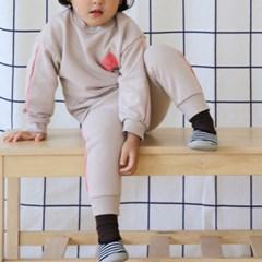 루) 스티커 아동 상하세트