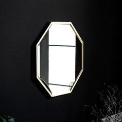 골드 화장대 욕실 거울 인테리어 벽거울 600_(1335564)
