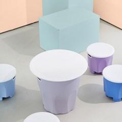 아이팜 젬베 유아 테이블 스툴의자세트 유아의자 유아책상
