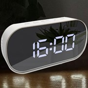 LED 디지털 미러 건전지 무소음 탁상시계