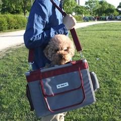 더얼반펫 강아지 자전거 바구니 캐리어 이동장, 드라이빙킷,이동가방