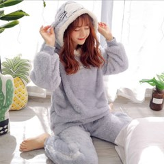 포근 토끼 잠옷 세트