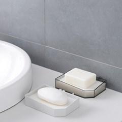 [아토소] 욕실 비누걸이 부착식 비누받침대 비누홀더
