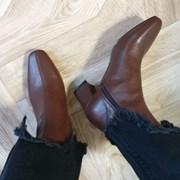 kami et muse  6cm heel stitch slim ankle boots_KM19w048
