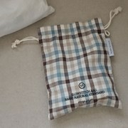 Check pouch  ( brown )