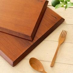 천연 옻칠 직사각 플레이트 (사이즈선택) / 우드 나무 트레이 접시