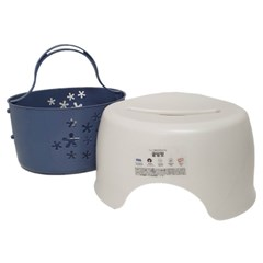 목욕의자+목욕바구니세트 궁딩잇 목욕바구니_(1089141)