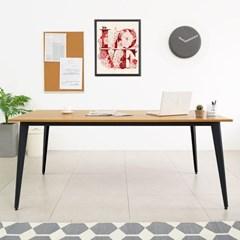 [e스마트] 철제 책상테이블 1800x600 디자인프레임_(11832997)