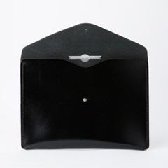 Envelope Clutch in Patent Pitch Black