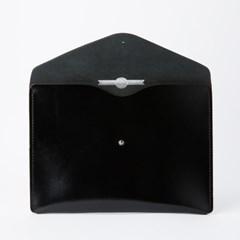 Envelope Clutch in Patent Pitch Black