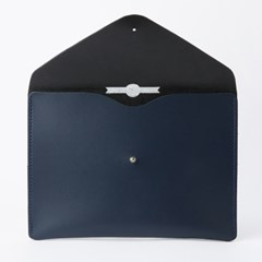 Envelope Clutch in Loch Blue