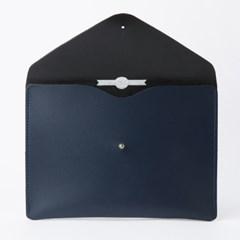 Envelope Clutch in Loch Blue