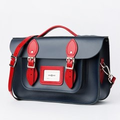 12.5inch Two Tone Loch Blue/Pillarbox Red (with handle)