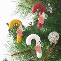 집게지팡이7.5cm(2개입) 트리 크리스마스 장식 TROMCG_(1503290)