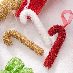 펀 지팡이 소 11cm(2개) 트리 크리스마스 장식 TROMCG_(1503287)