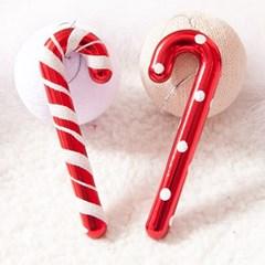 땡땡이 지팡이 13cm(6개입) 트리 크리스마스 TROMCG_(1503282)