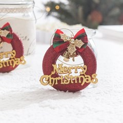 트윈레드링8.5cm(2개입) 트리 리스 크리스마스 TROMCG_(1503276)