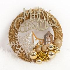 크리스탈 설정 링 24cmP 트리 리스 크리스마스 TROMCG_(1503268)