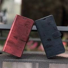 갤럭시S10 5G (G977) Rico-TonleSap 지갑 다이어리 케이스