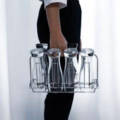 [아토소] 스텐 컵 걸이 정리대 트레이 컵꽂이 8P 12P