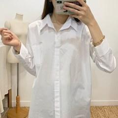 마쉬옐로우 쿨퓨어 3타입 무지 롱 셔츠 (3type)