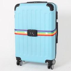 [TCUBE] TSA 3다이얼 여행가방 터짐방지 가방보호벨트-레인보우스타