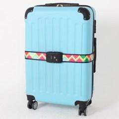 [TCUBE] TSA 3다이얼 여행가방 터짐방지 가방보호벨트 - 픽셀