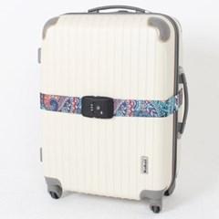 [TCUBE] TSA 3다이얼 여행가방 터짐방지 가방보호벨트 - 페이즐리
