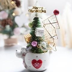 루돌프 라인 트리화분 19cmP 트리 크리스마스 TRFAHM_(1507520)