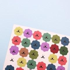 [한톨상점]뽀글이 스티커