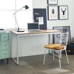 [데코마인] 오브리 스틸책상 1200 철제책상 원목테이블