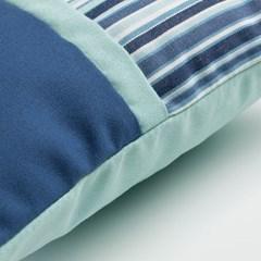 스페인 직수입 블루 쿠션커버-블루1